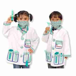 Melissa & Doug Role Play  Costume Set Doctor