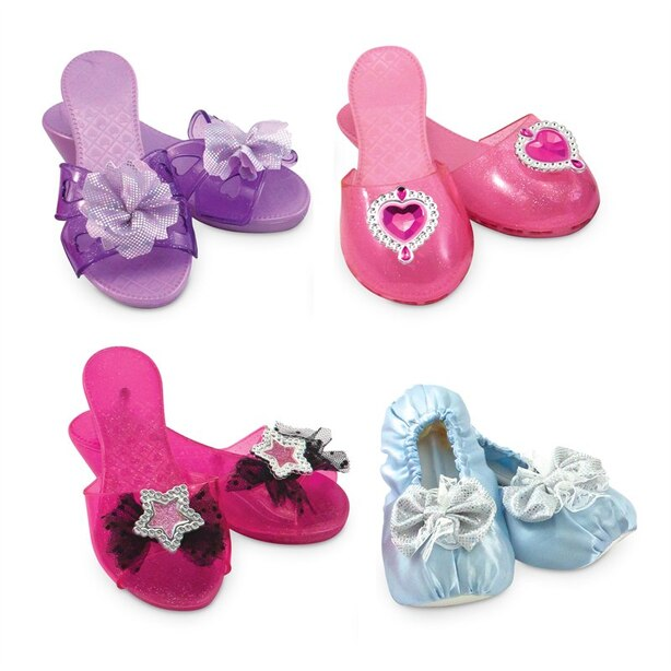 Melissa & Doug Dress-Up Shoes Role Play Collection
