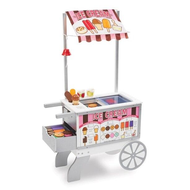 Melissa and Doug Snacks & Sweets Food Cart