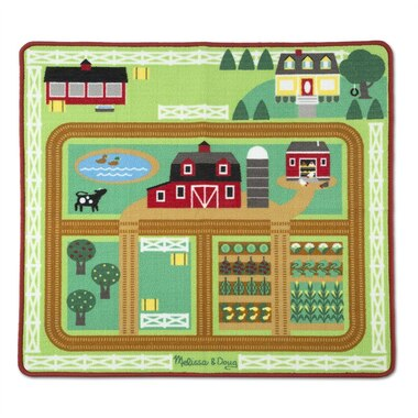 Melissa & Doug® Rug Around the Barnyard Farm