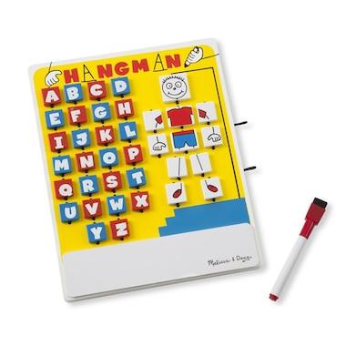 Melissa and Doug® Flip to Win Hangman Travel Word Game