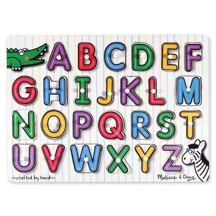 Melissa & Doug ABC Small Peg Puzzle