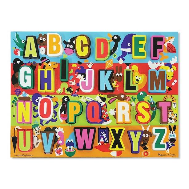 Jumbo Alphabet Chunky Puzzle