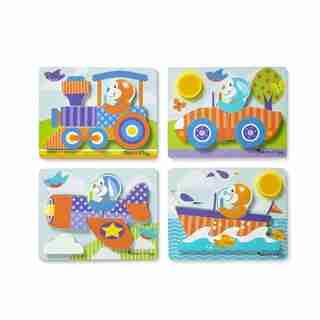 Melissa & Doug First Play Jigsaw Puzzle Vehicles
