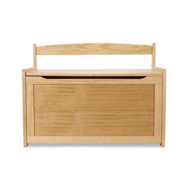 Melissa and Doug® Wooden Toy Chest Honey