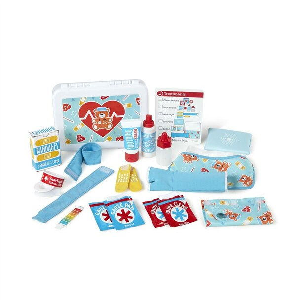 Melissa Doug Get Well First Aid Kit Play Set