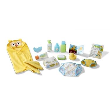 Melissa & Doug® Mine to Love Doll Changing and Bathtime Playset