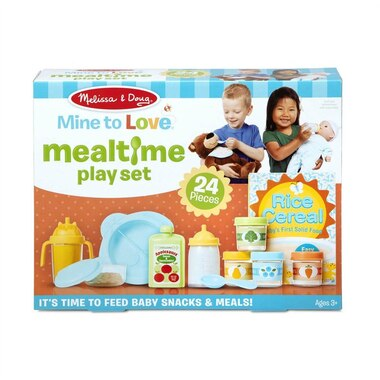 Melissa & Doug® Mine to Love Doll Mealtime Playset