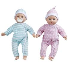 Melissa & Doug Mine d'Aimer Jumeaux Luke & Lucy Poupées claires pour garçons et filles de 15 po de…
