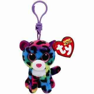 Ty Beanie Boos® Dotty Multi-Colour Leopard Clip