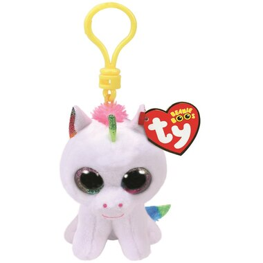 d073f6848d8 PIXY- white unicorn clip by Ty