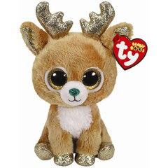 Ty Glitzy Reindeer Plush Regular