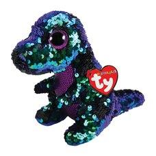 Ty® Flippables™ Magic Sequin Plush Animal Dinosaur Crunch Regular