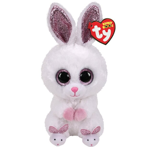 Ty Beanie Boo Slippers Rabbit with Slippers - Regular