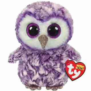 TY Owl Purple Regular - Moonlight