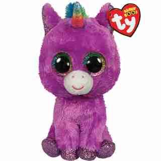Ty Rosette Purple Unicorn - Regular