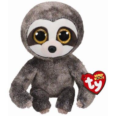 Ty® Plush Animal Dangler Sloth Grey Medium 6''