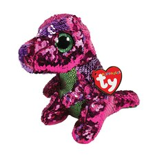 Ty® Flippables™ Magic Sequin Plush Animal Dinosaur Stompy Medium