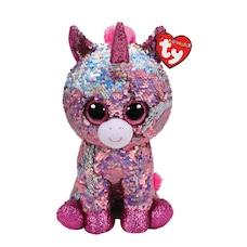 Ty® Flippables™ Magic Sequin Plush Animal Unicorn Sparkle Medium