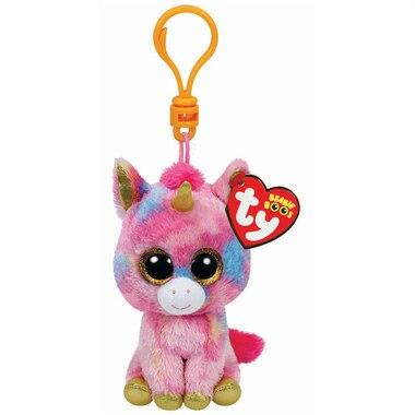 Beanie Boos Clip - Fantasia the Rainbow Unicorn