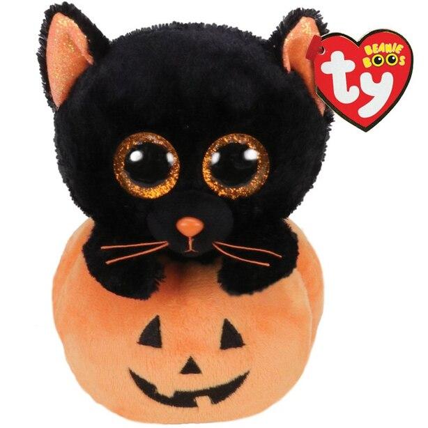 Cat in Pumpkin Plush Toy