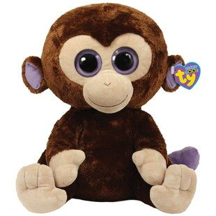 Beanie Boos Large - Coconut the Monkey