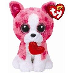 Ty Beanie Boos® Romeo Pink Dog - Regular