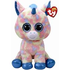 Ty Beanie Boos® Blitz Blue Unicorn - Large 615cba1837c