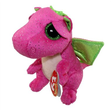 Ty Beanie Boos Darla Pink Dragon Medium By Ty Toys Chapters