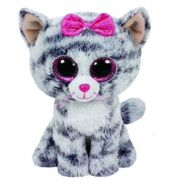 TY beanie Boos - Kiki the Grey Cat (Small) by Ty  4fd6760515e