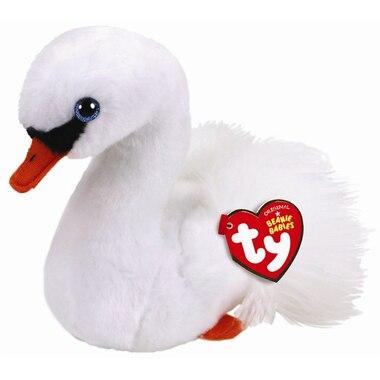 Ty® Plush Animal Gracie Swan Regular 6''