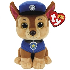 Ty Teanie Boos - Paw Patrol - Chase Shepard Dog (Small)