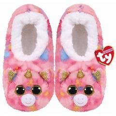 Ty® Beanie Boo's™ Plush Animal Slipper Socks Fantasia Medium