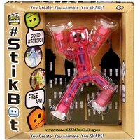 StikBot Single Pack Assorted Colours by Stikbot