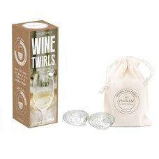 Refroidisseur à vin Wine Twirls – Ensemble de 4