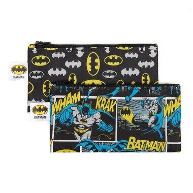 Bumkins DC Comics Snack Bag 2pk Small, Batman
