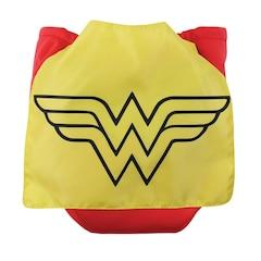 Bumkins Caped Diaper, Wonderwoman