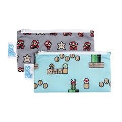 Bumkins Nintendo - 2 sacs à goûter - Super Mario 8-Bit