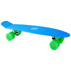 "22"" Retro Skateboard - Classic Blue"