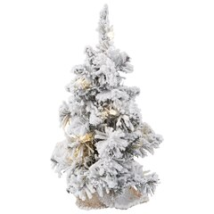 Flocked Ridge Spruce Tree – 15""