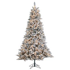 Flocked Ridge Spruce Tree – 9'
