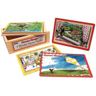Curious George Jigsaw Puzzle