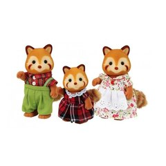 Calico Critters Red Panda Family