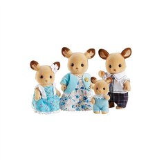 Calico Critters - Buckley Deer Family (Bilingual)