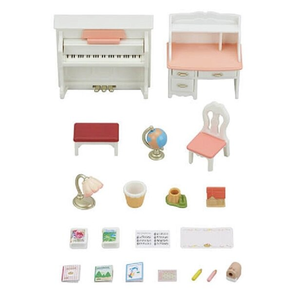Calico Critters® Home Furniture Playset Piano and Desk