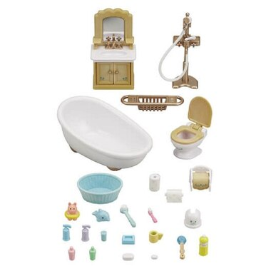 Calico Critters® Home Furniture Playset Country Bathroom
