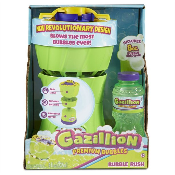 Gazillion Bubble Rush Bubble Blower