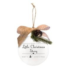 1744NP Little Christmas Quotaball Ornament