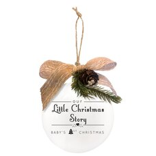 Little Christmas Quotaball Ornament