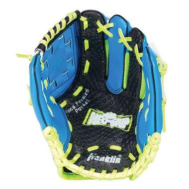 """9"""" Neo Grip Blue Glove & Ball Set"""